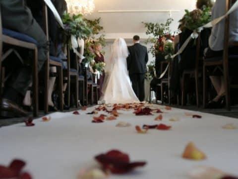 mariage dans église