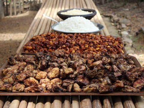 plat africain